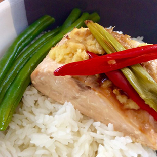 Salmon-En-Papillote-with-ginger,lemon-and-chilli
