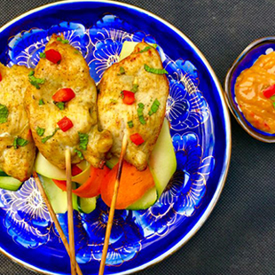 chicken-satay-with-c&c-relish