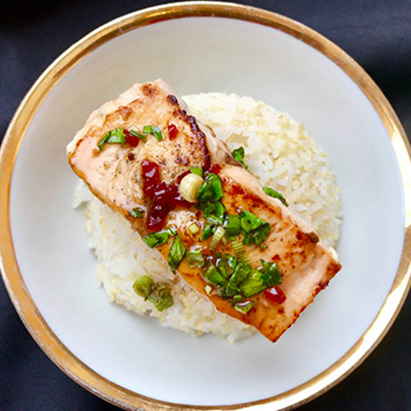 sweet-n-zingy-salmon-with-coriander