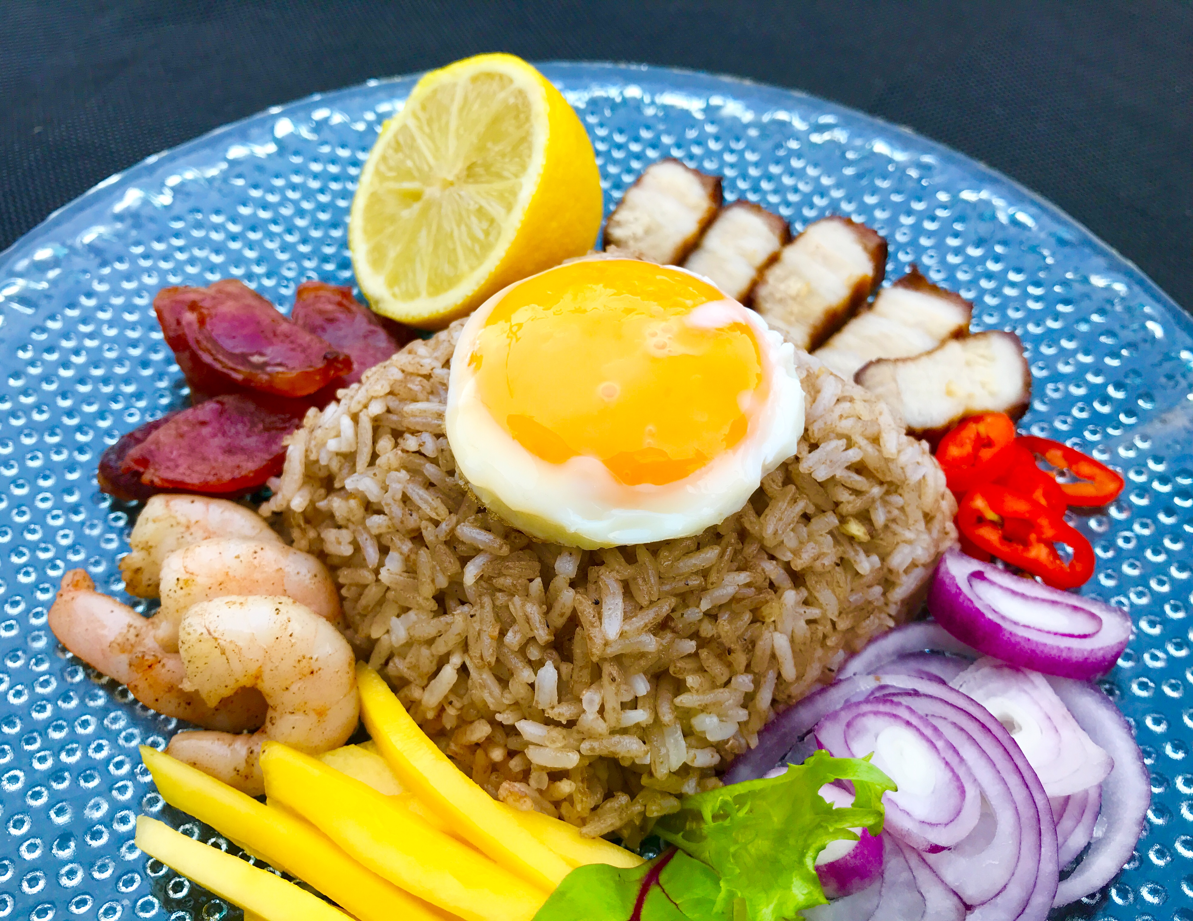 Image result for Khao Kluk Kapi (Rice with Shrimp Paste) Recipe