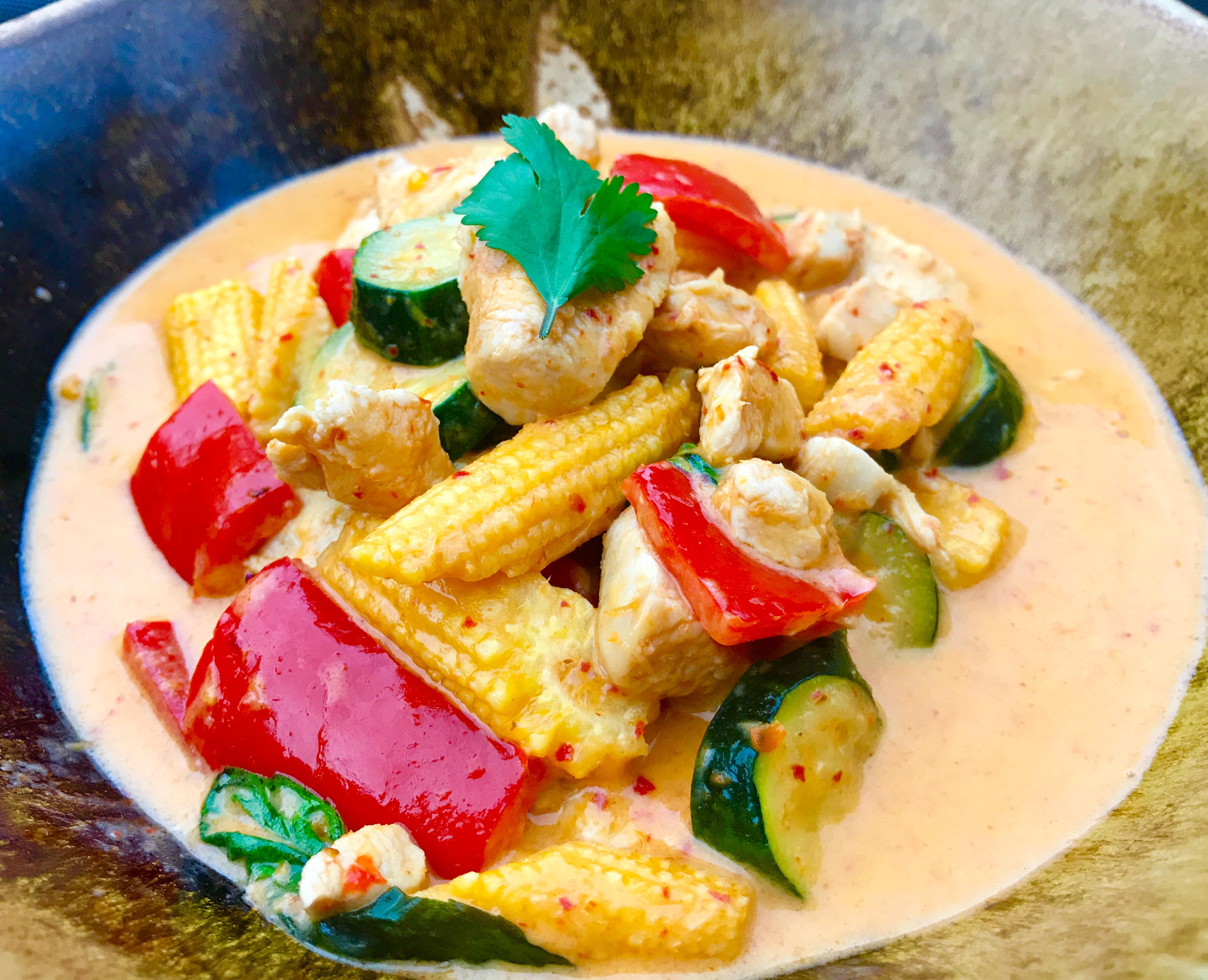 Chicken thai red curry thai food made easy easy thai food recipes chicken thai red curryeasy version thai food online forumfinder Images