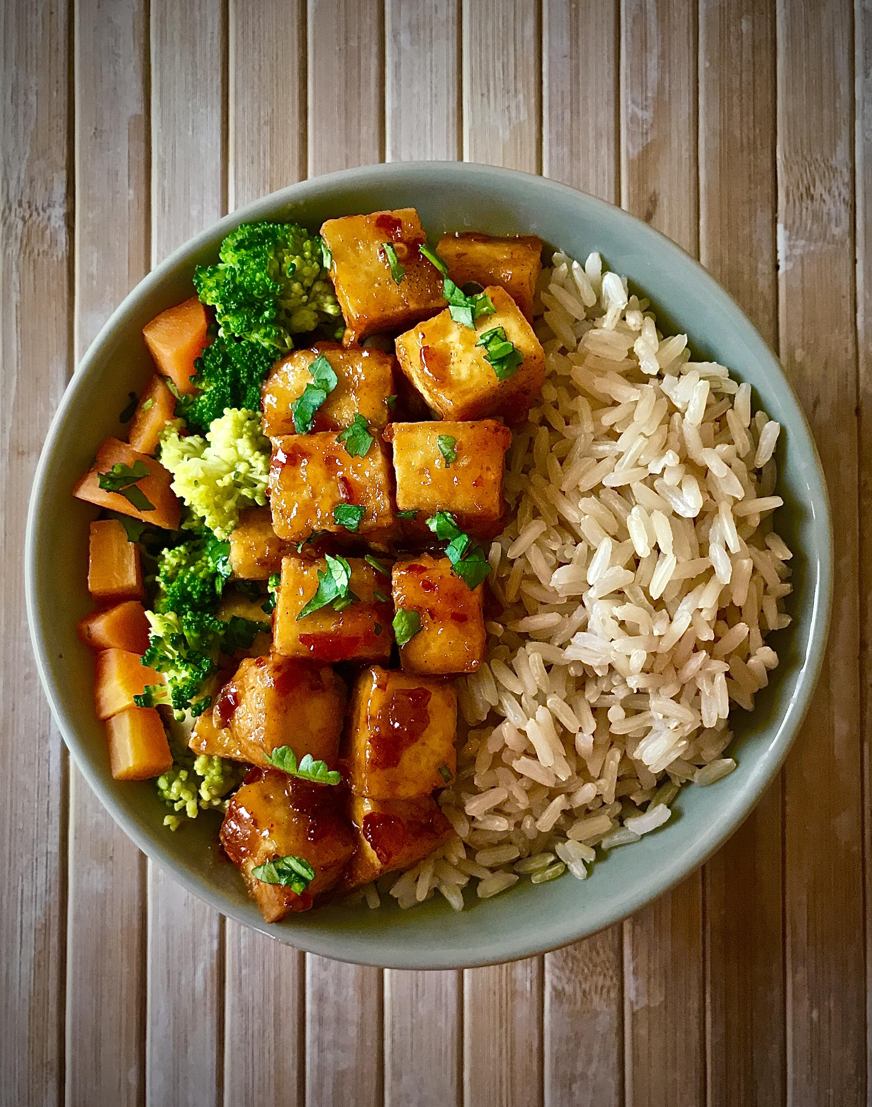 Zesty Tofu (Vegan)
