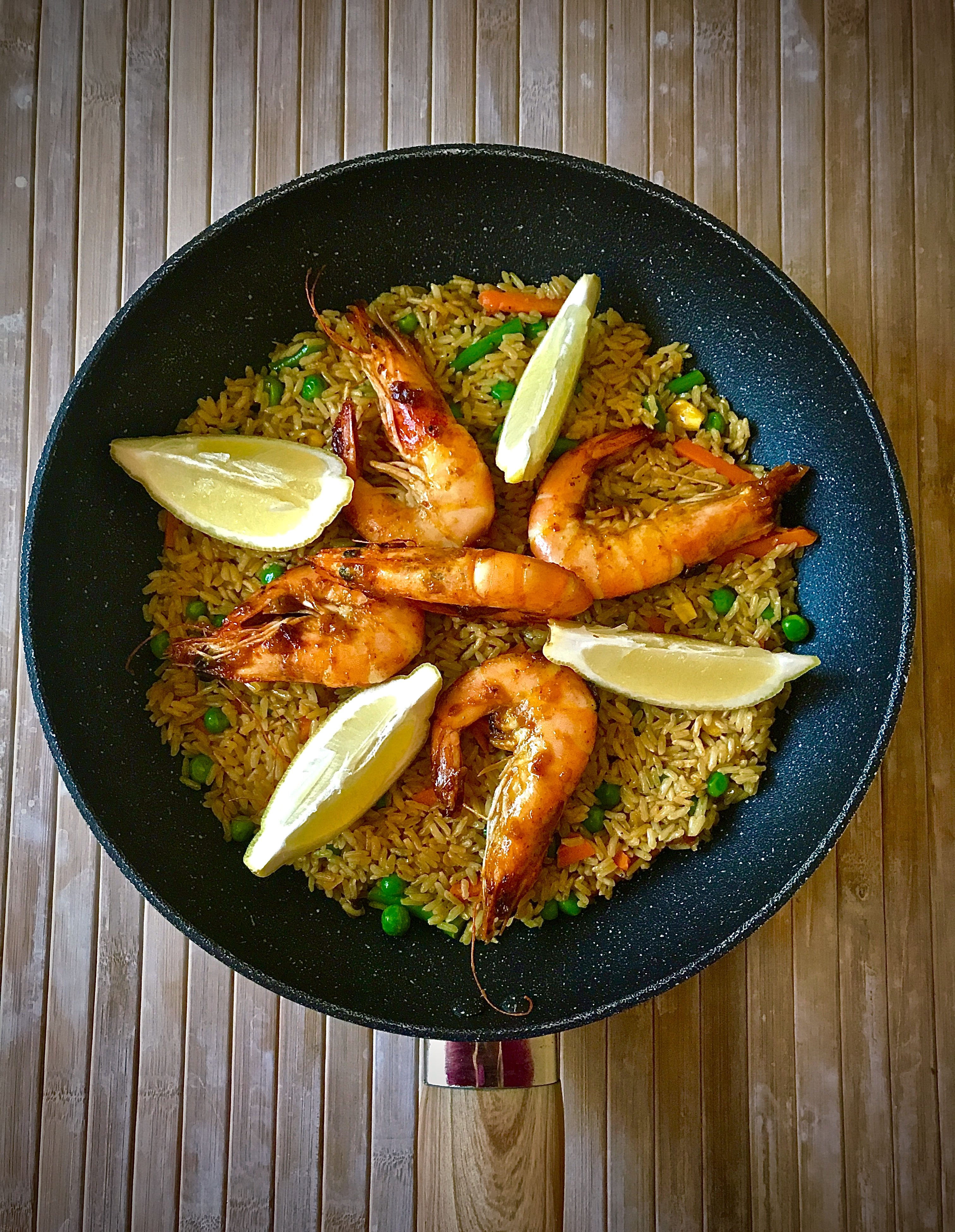 Zesty Prawn Fried Rice